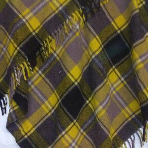 Faribault Jackets & Coats - faribault wool plaid blanket tassels 52 x 52